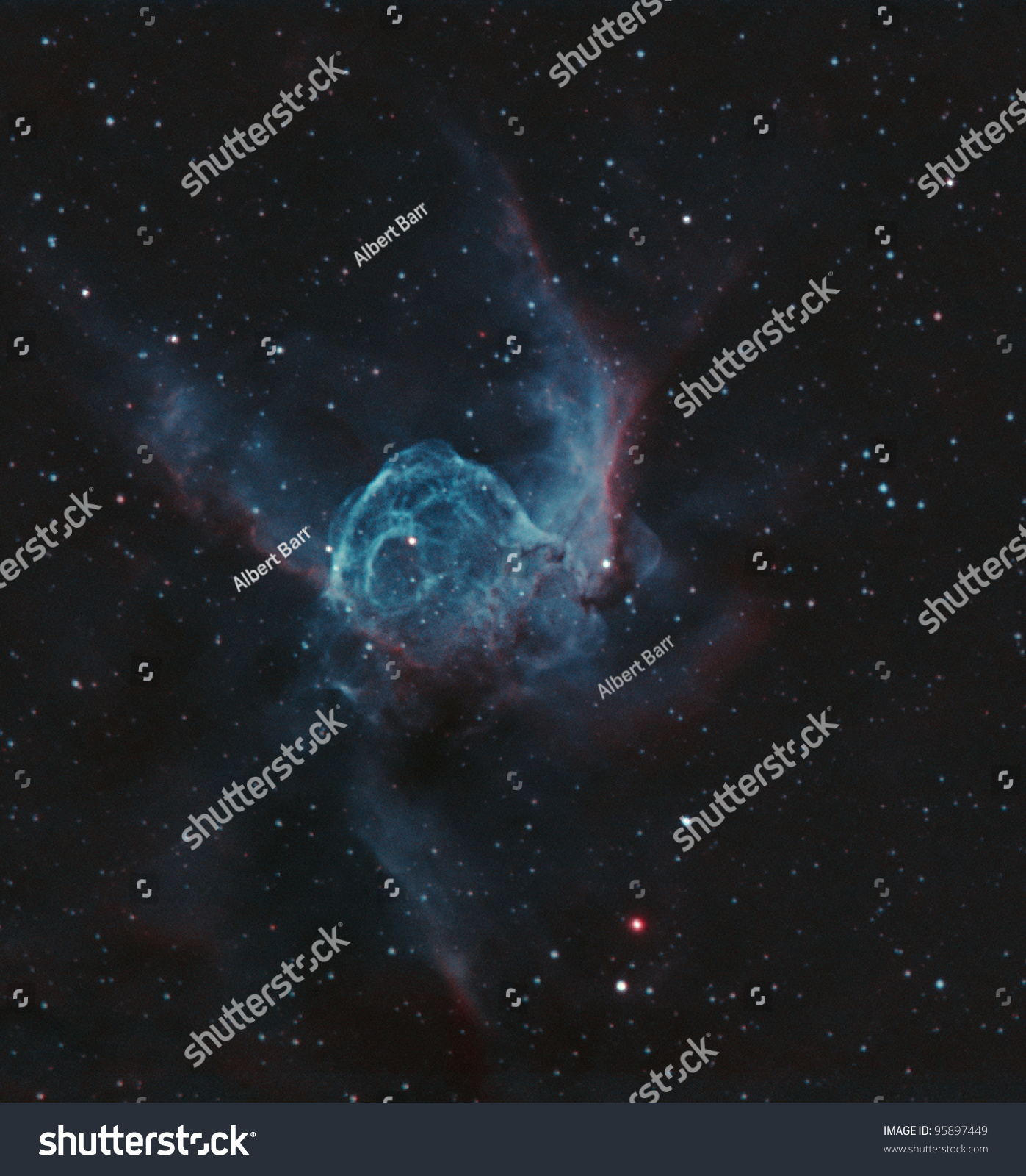 Ngc 2359 Known Thors Helmet Duck Stock Photo 95897449 - Shutterstock