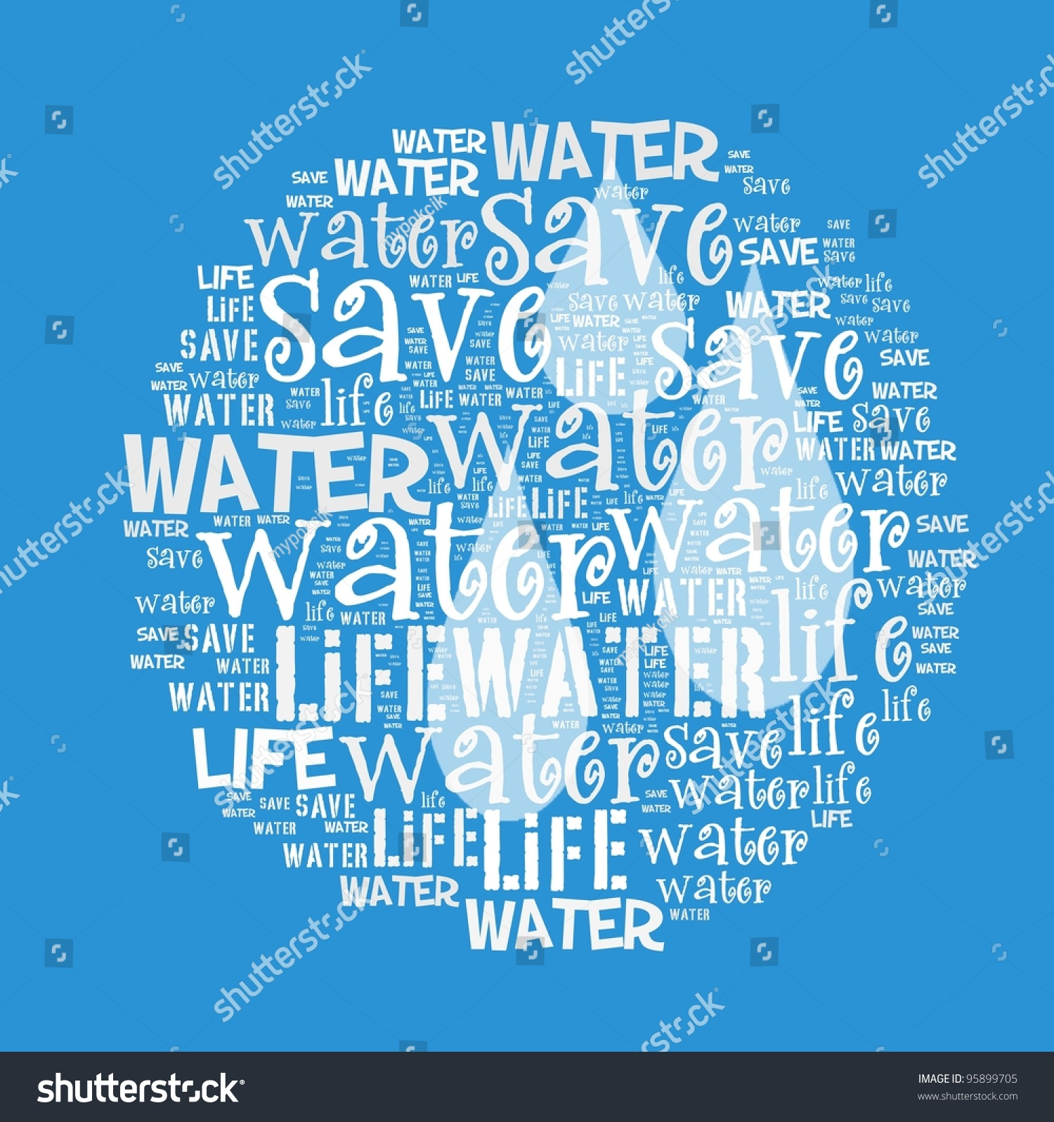 save water save life save world