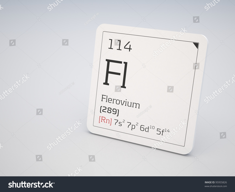 Flerovium element flerovium fl 114 from periodic table element flerovium element flerovium element of the periodic table o gamestrikefo Images