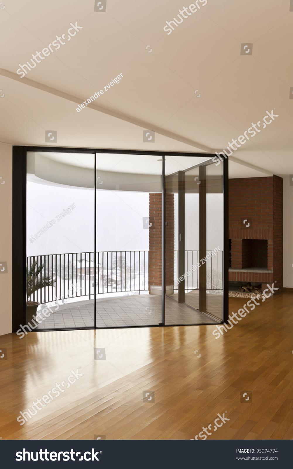 Beautiful apartment interior hardwood floors large for Beautiful flats interior