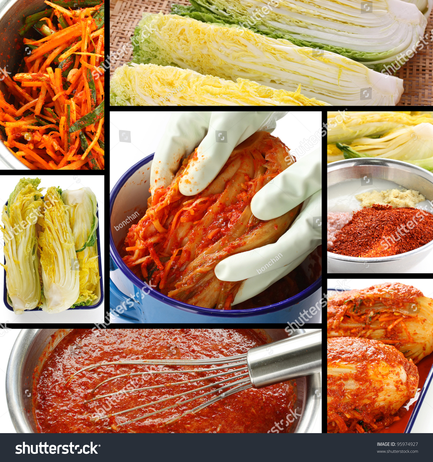how to make kimchi korean food