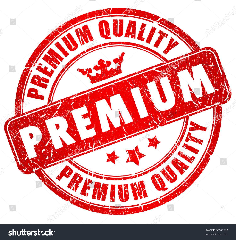 premium quality red grunge stamp stock illustration 96022880