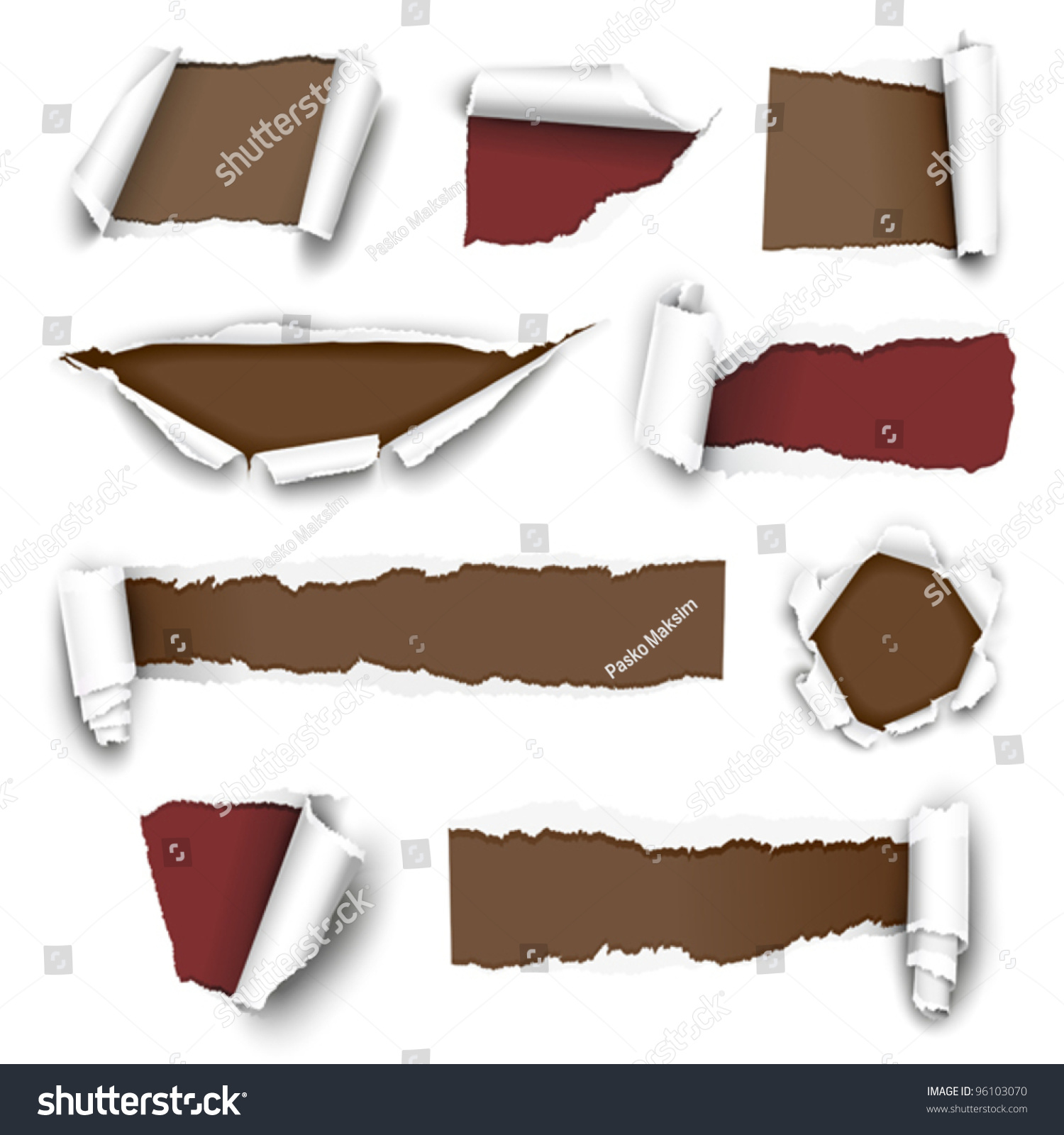 torn paper vector Torn paper vector choose from thousands of free vectors, clip art designs, icons,  and illustrations created by artists worldwide.