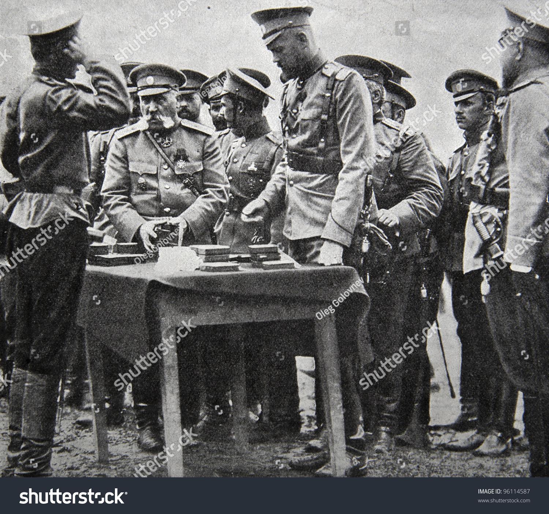 karl bulla grand duke sergei mikhailovich firing artillery illustration