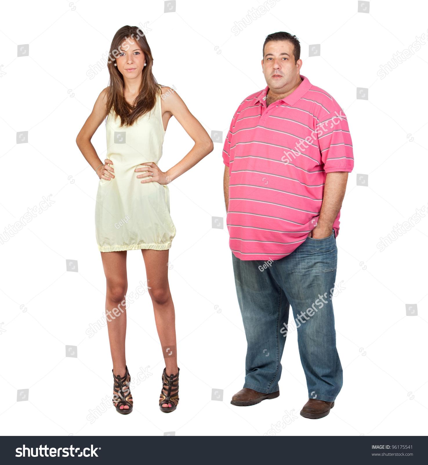 Tall girl fat Taller Men