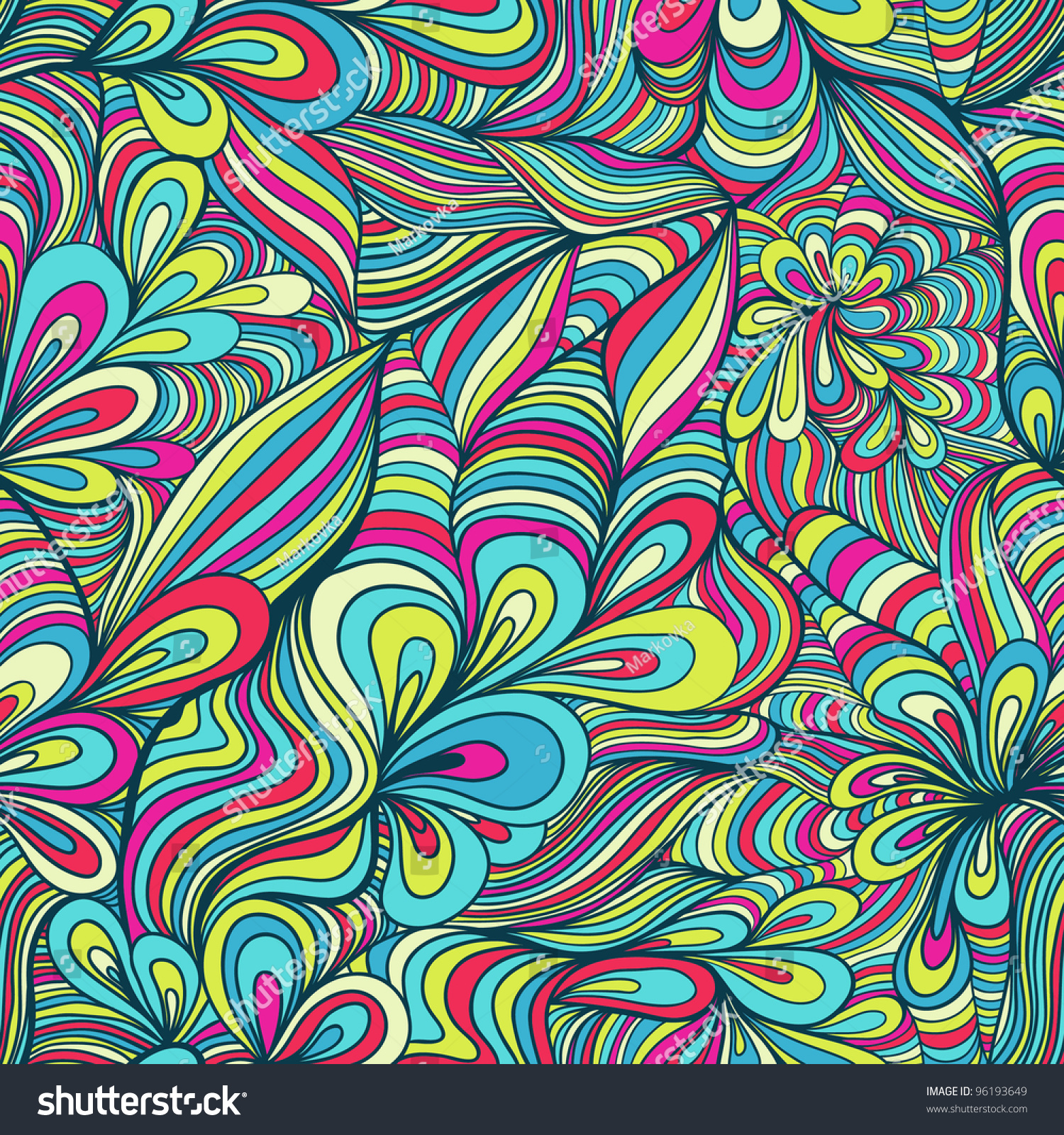 abstract funky pattern wallpaper - photo #28
