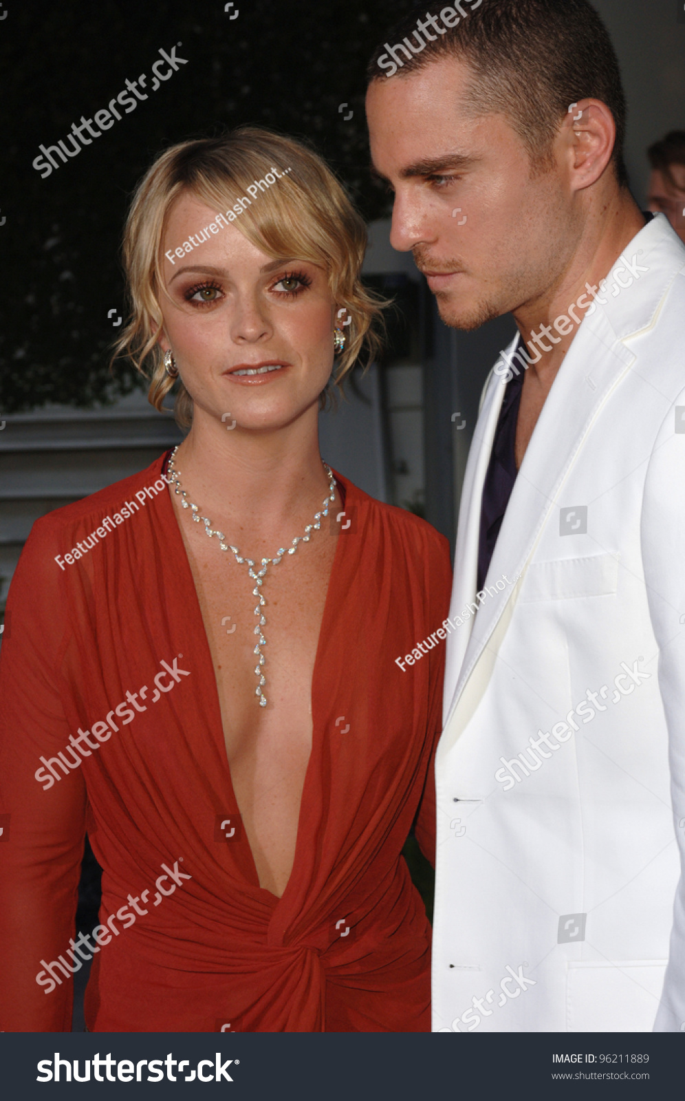 Actress Taryn Manning Boyfriend Los Angeles Stock Photo ...