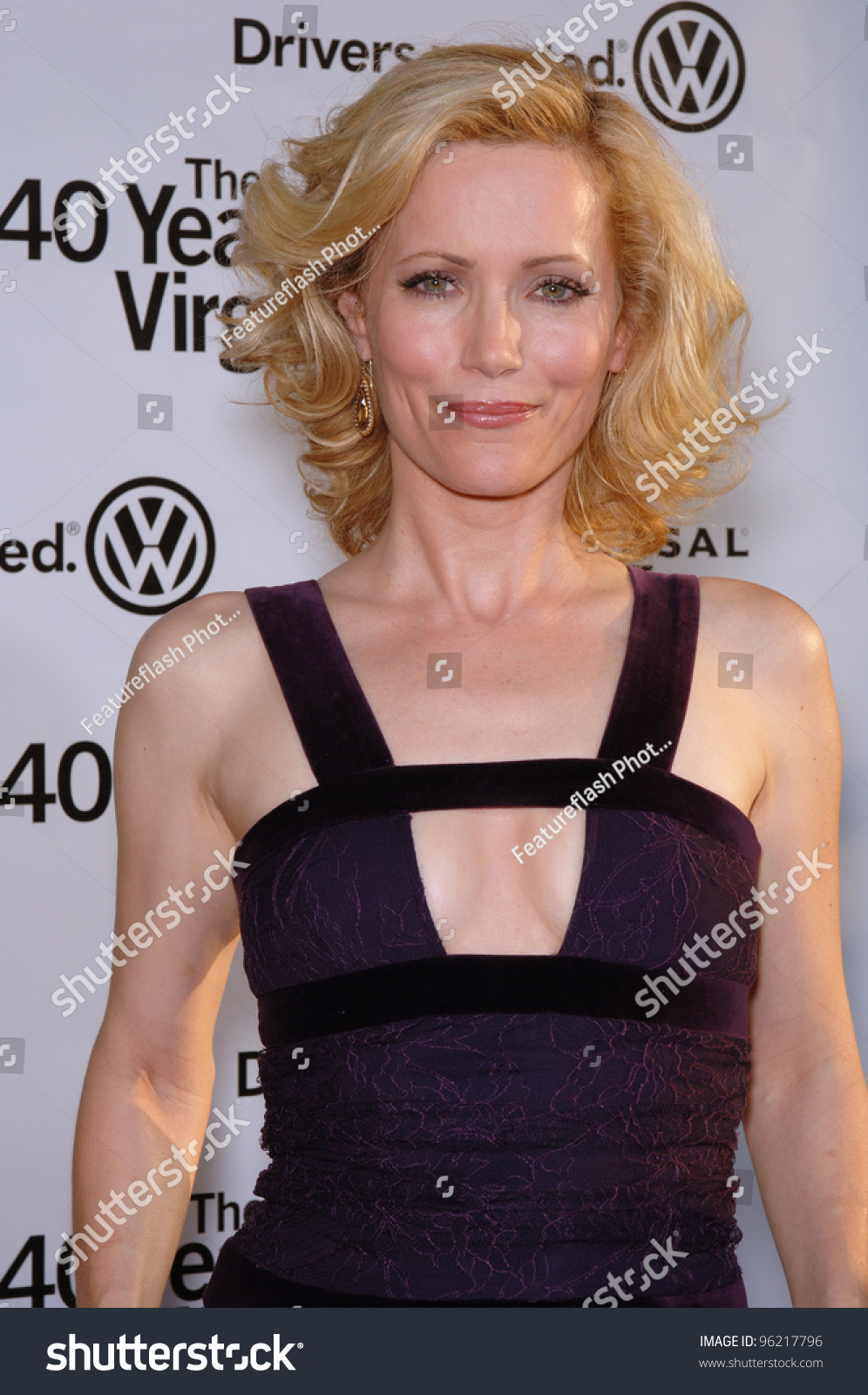 Actress Leslie Mann At The World Premiere Of Her New Movie ...