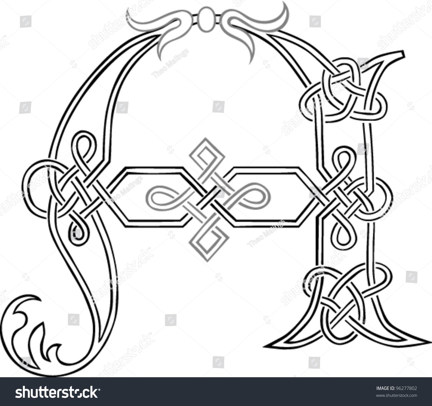 Celtic Knot Letter Mersnoforum