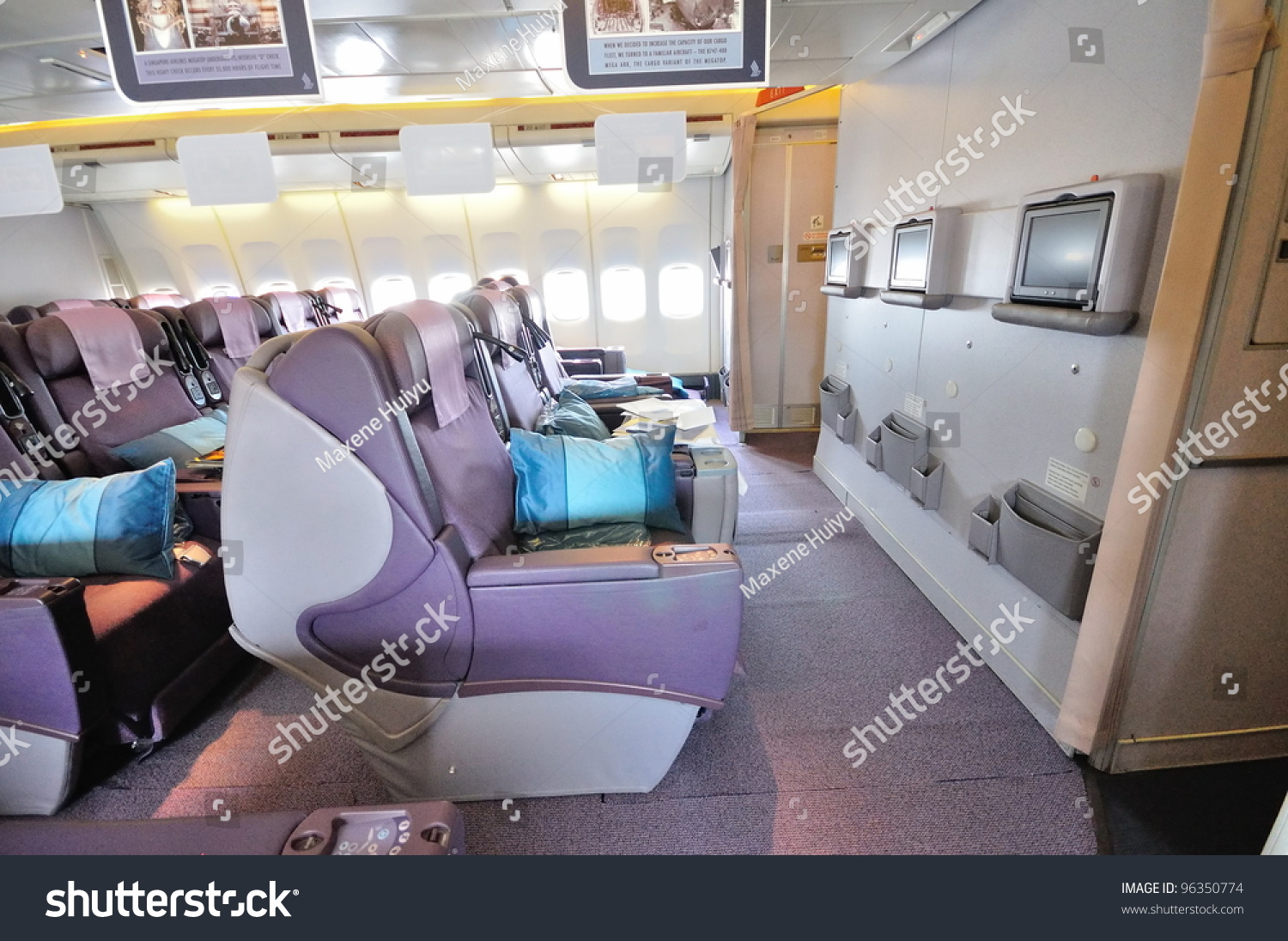 Singapore february 17 front row business stock photo 96350774 ...
