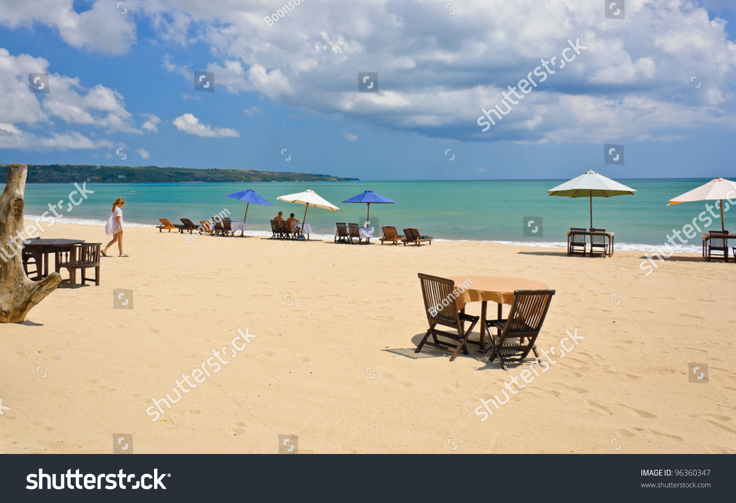 Jimbaran Beach Bali Indonesia Stock Photo Edit Now 96360347