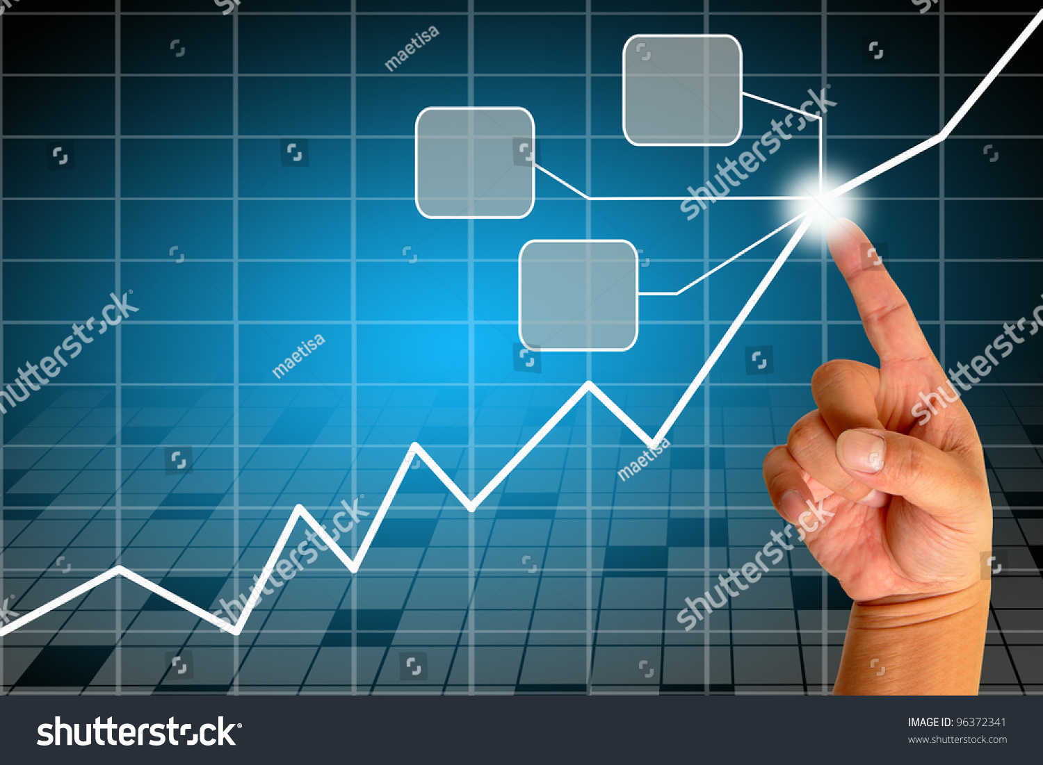 Drawing Line Graphs By Hand : Hand drawing graph stock illustration shutterstock