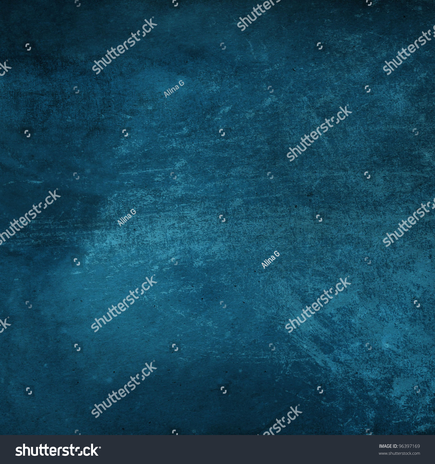 grain blue paint wall background texture stock photo 96397169