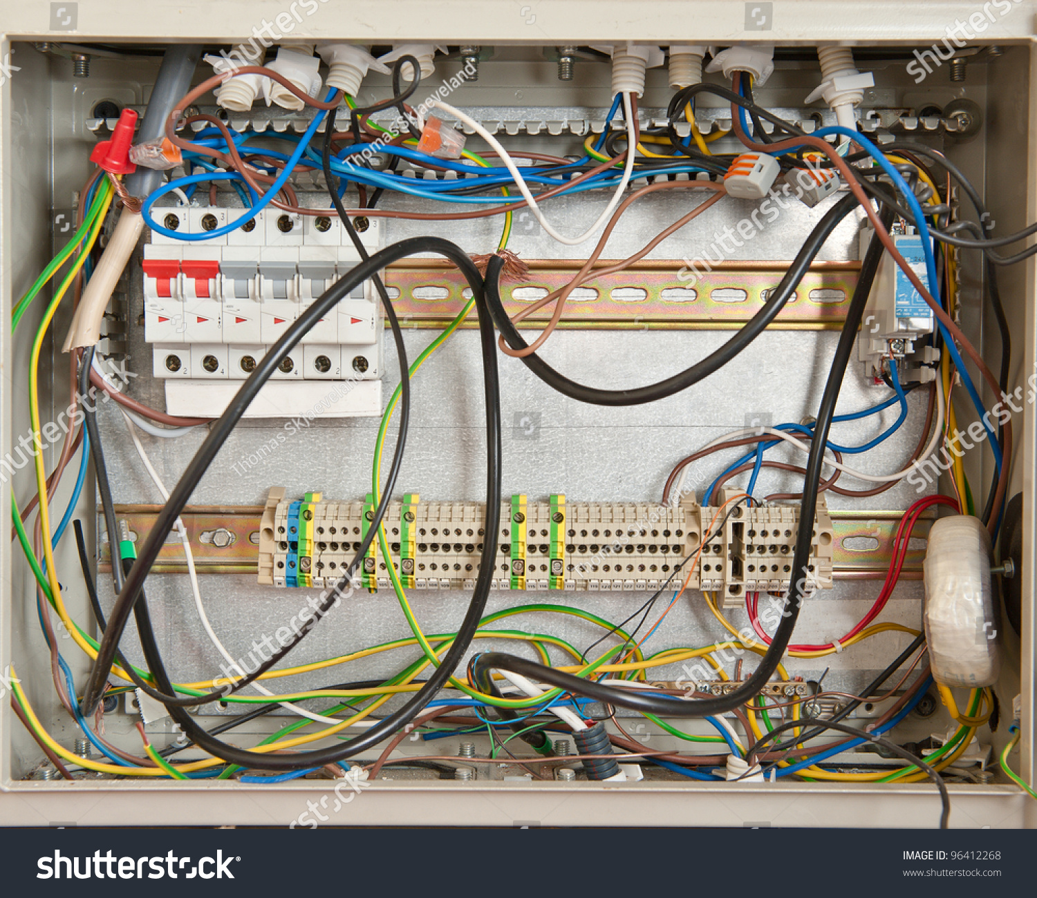 electrical connections fuse box stock photo shutterstock electrical connections in a fuse box