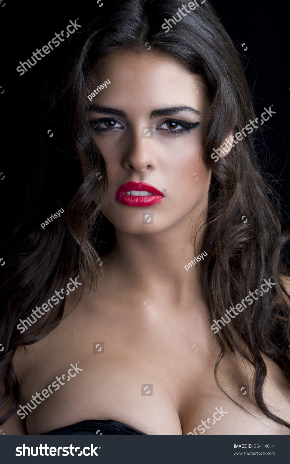sexy beautiful woman big tits stock photo (royalty free) 96414614