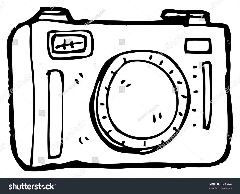 Cartoon Camera Stock Illustration 96438476 - Shutterstock
