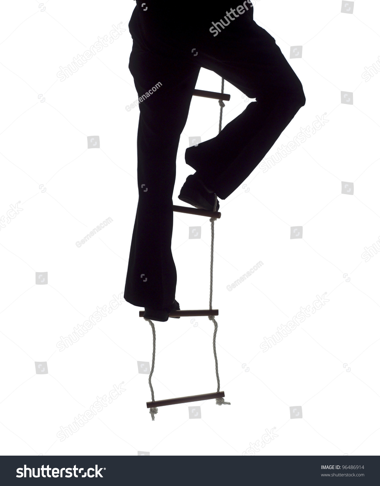 climbing up the rope ladder stock photo shutterstock climbing up the rope ladder preview save to a lightbox