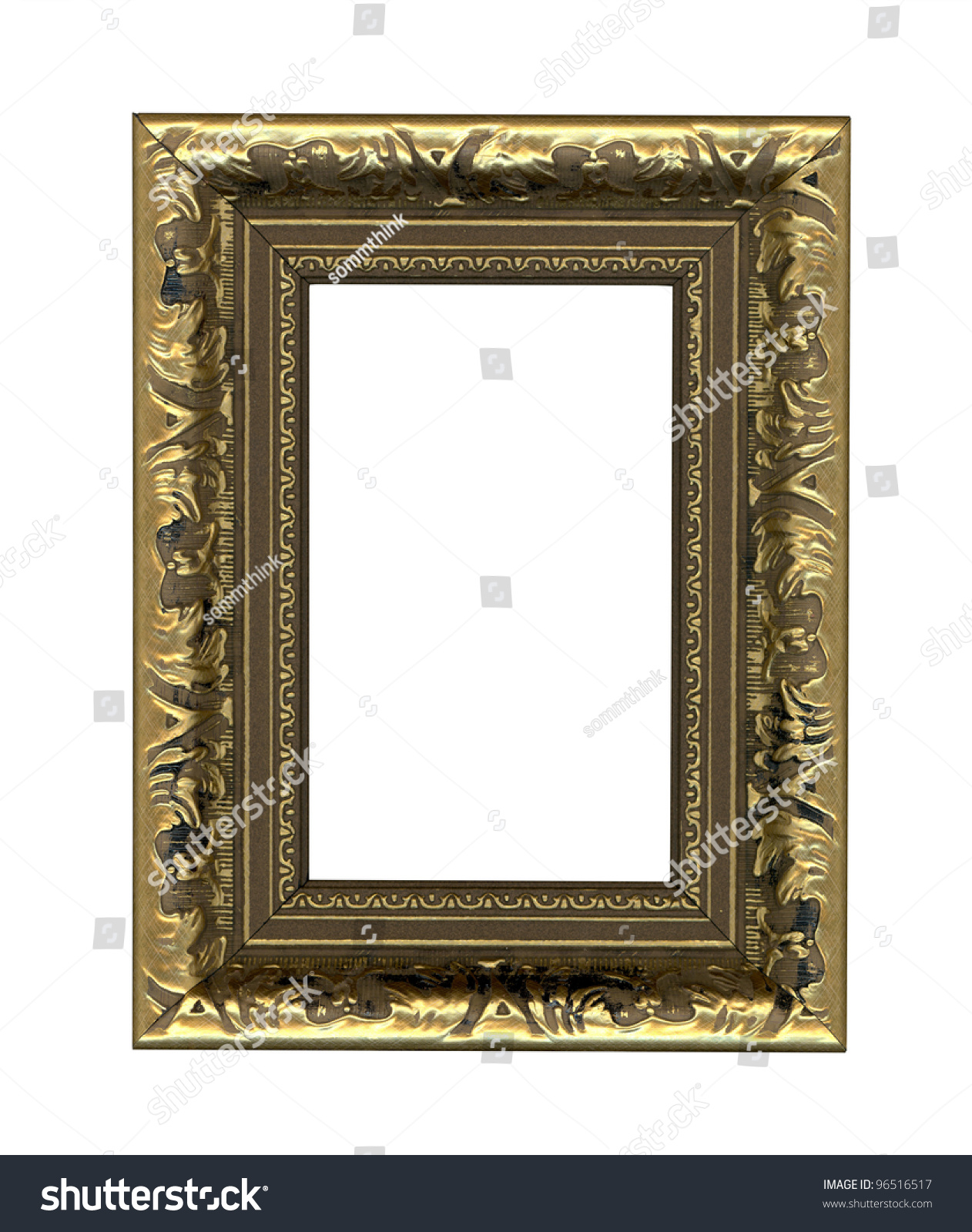 Picture Photo Frame Put Your Own Stock Illustration 96516517 ...