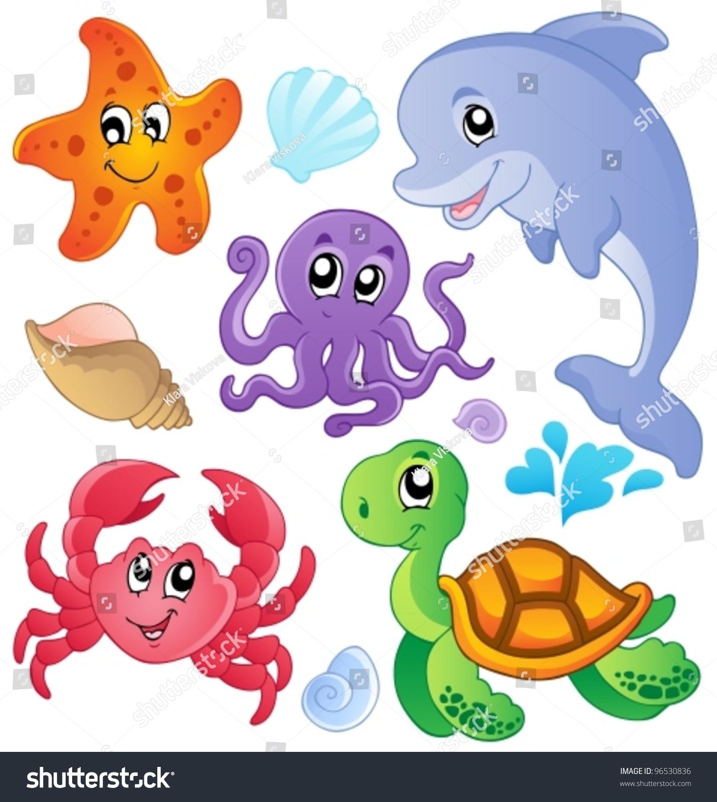 Gallery For gt Cartoon Water Animals