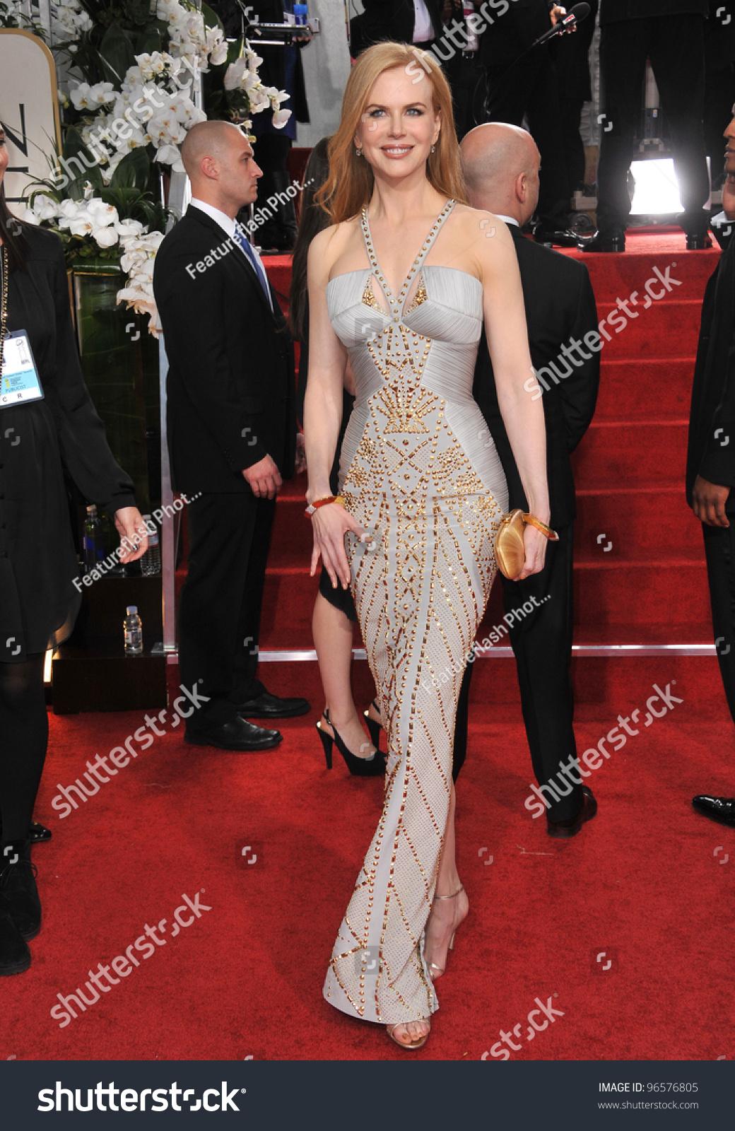 Nicole Kidman 69th Golden Globe Awards Stock Photo (Edit Now