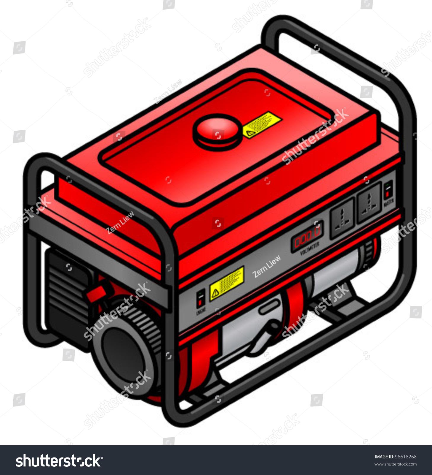 Portable Petrolgasoline Generator International Power