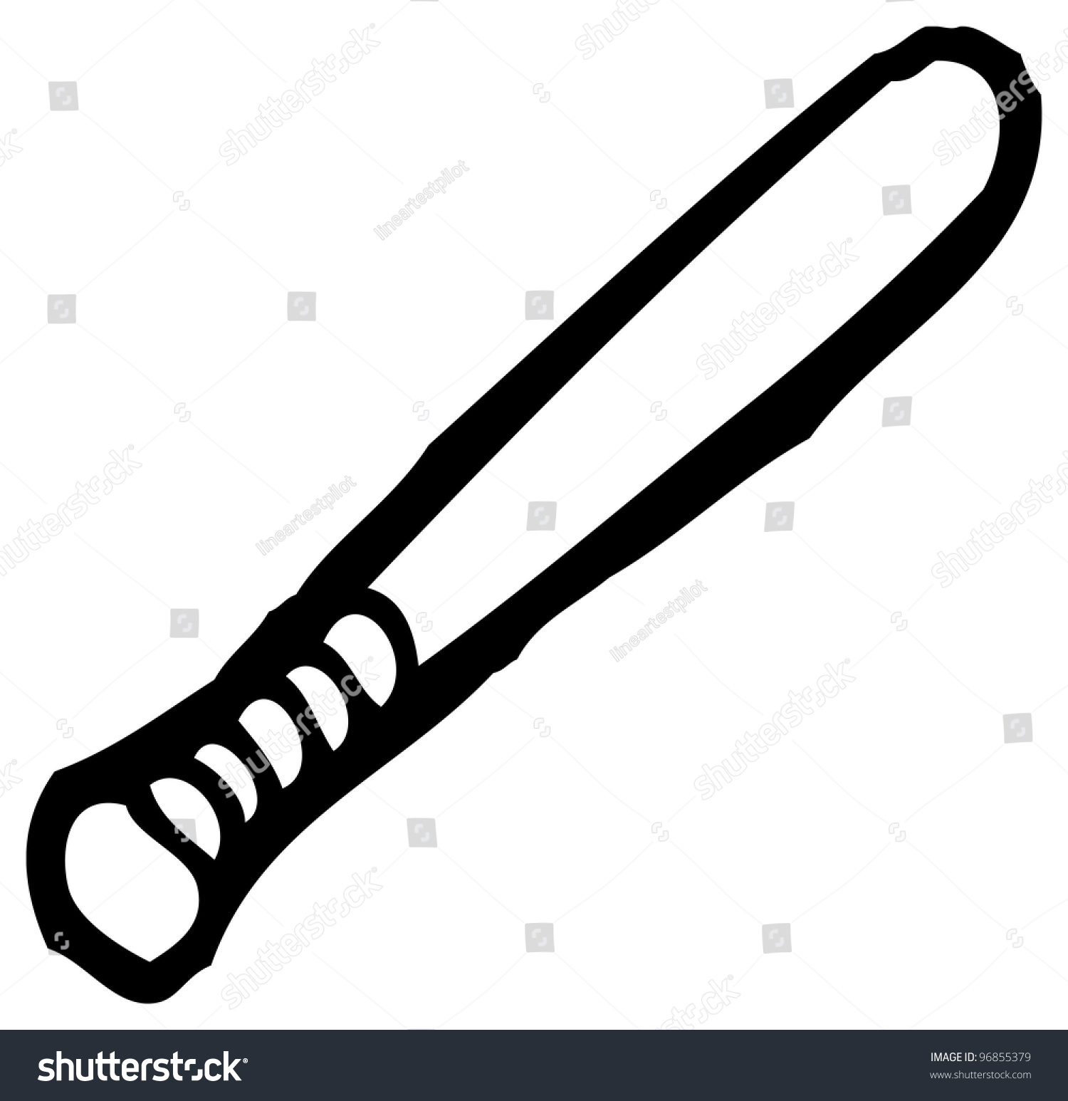 Baseball Bat Cartoon Stock Illustration 96855379 - Shutterstock