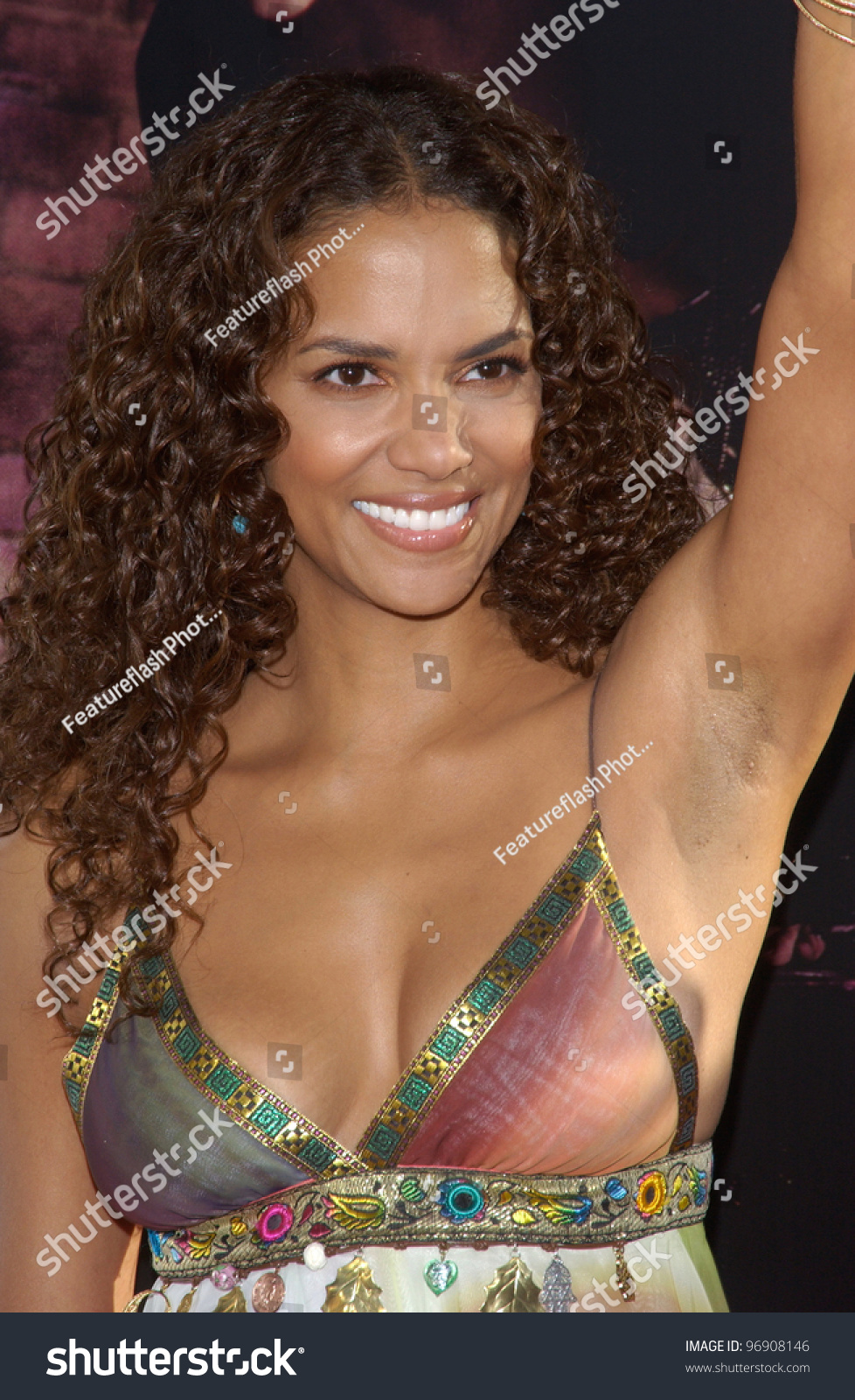 Actress Halle Berry World Premiere Hollywood Stock Photo Edit Now