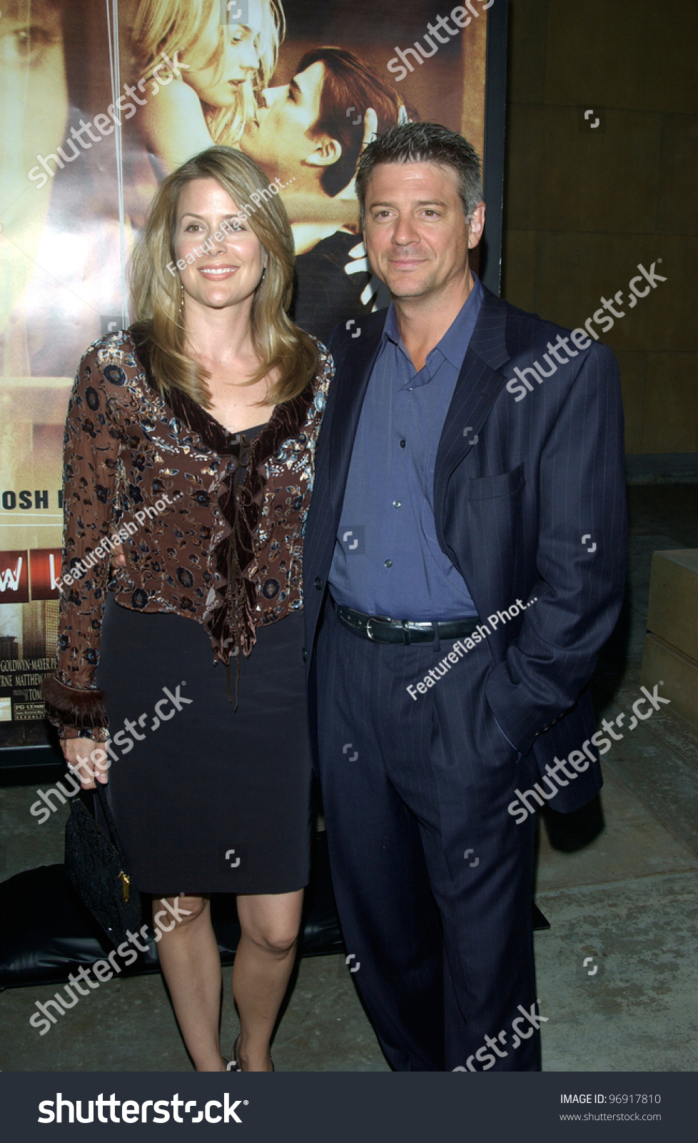 Actor CHRISTOPHER COUSINS Wife World Premiere Stockfoto (Lizenzfrei ...