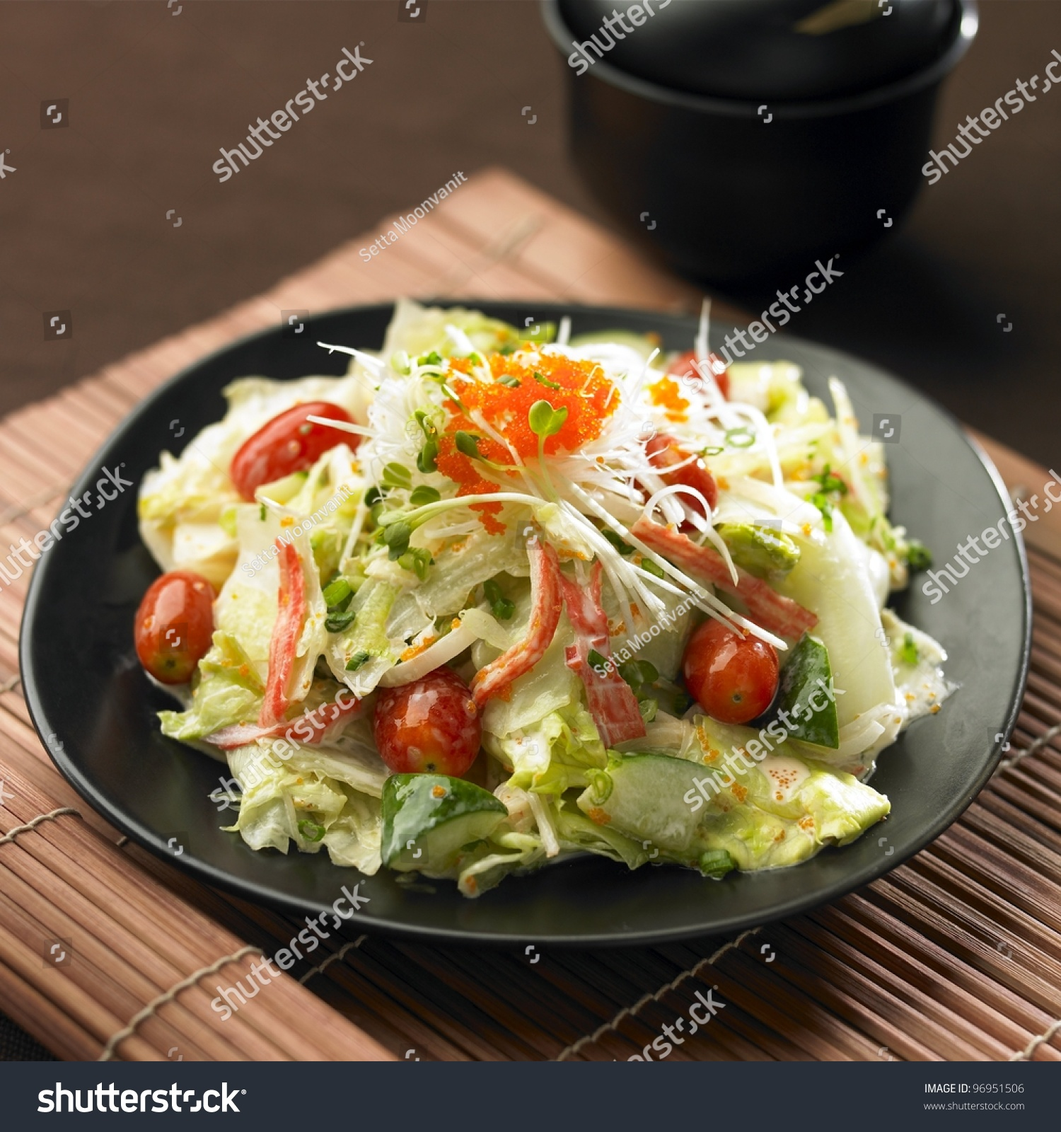 how to say salad in japanese