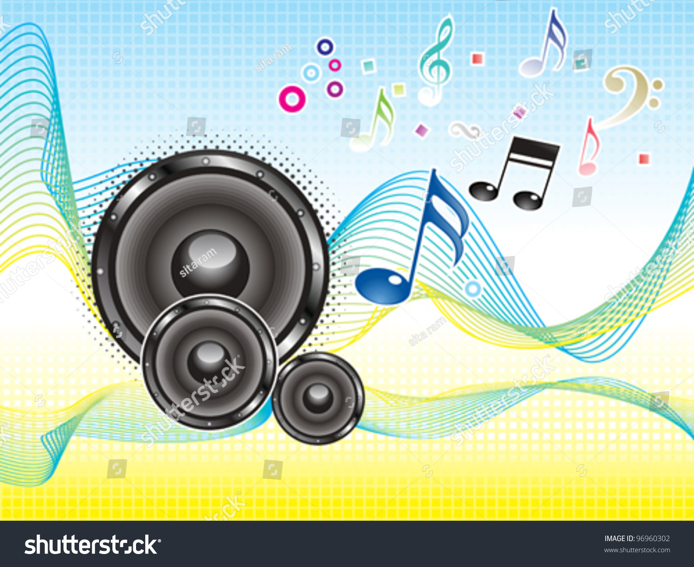 Top Wallpaper Music Soundwave - stock-vector-abstract-colorful-music-sound-wave-wallpaper-vector-illustration-96960302  You Should Have_151356.jpg