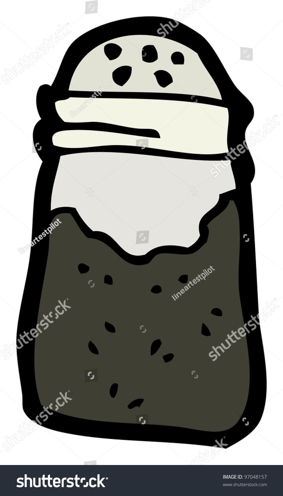Cartoon Pepper Shaker Stock Illustration 97048157 - Shutterstock
