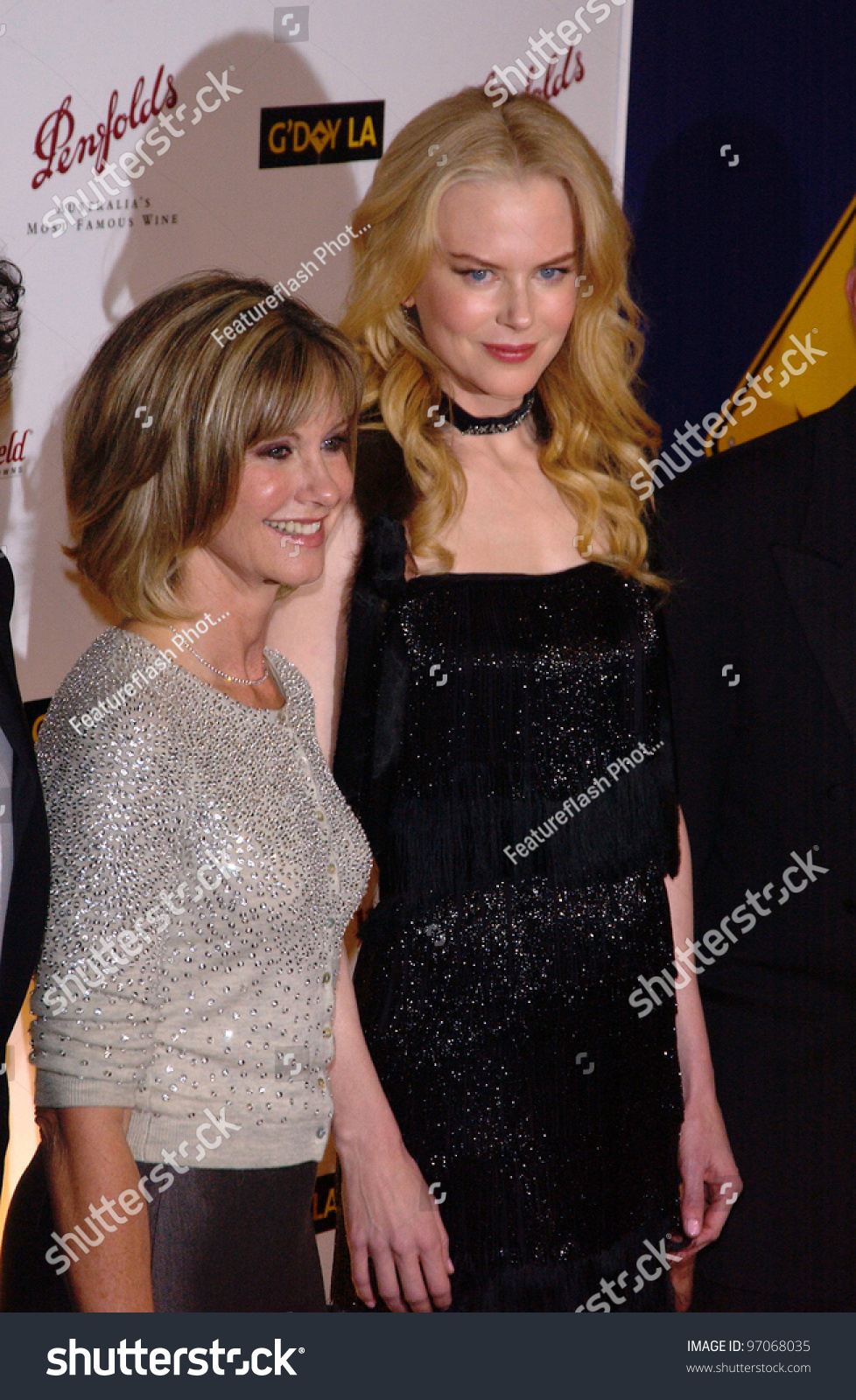 Jan 15, 2005; Los Angeles, Ca: Olivia Newton John & Nicole ...