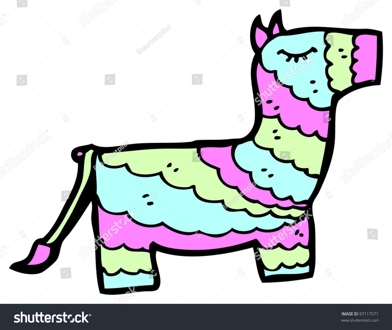 Cartoon Pinata Stock Illustration 97117571 - Shutterstock