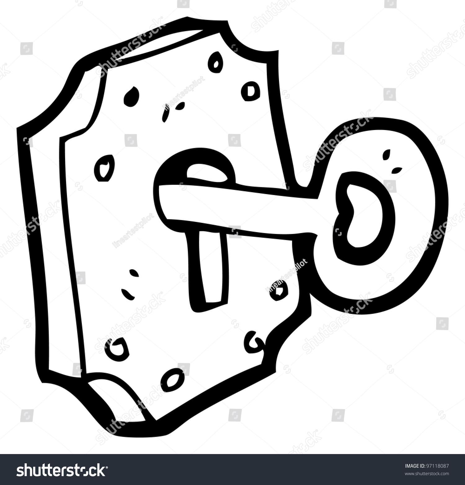 Key Lock Cartoon Stock Illustration 97118087 Shutterstock