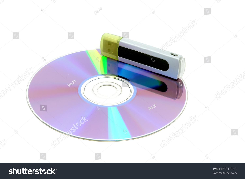 Cd usb stick symbol data protection stock photo 97199054 cd with usb stick as symbol for data protection biocorpaavc