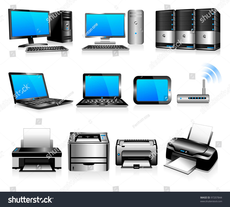 Computer Technology Computers Desktops Pc Laptops Stock ...