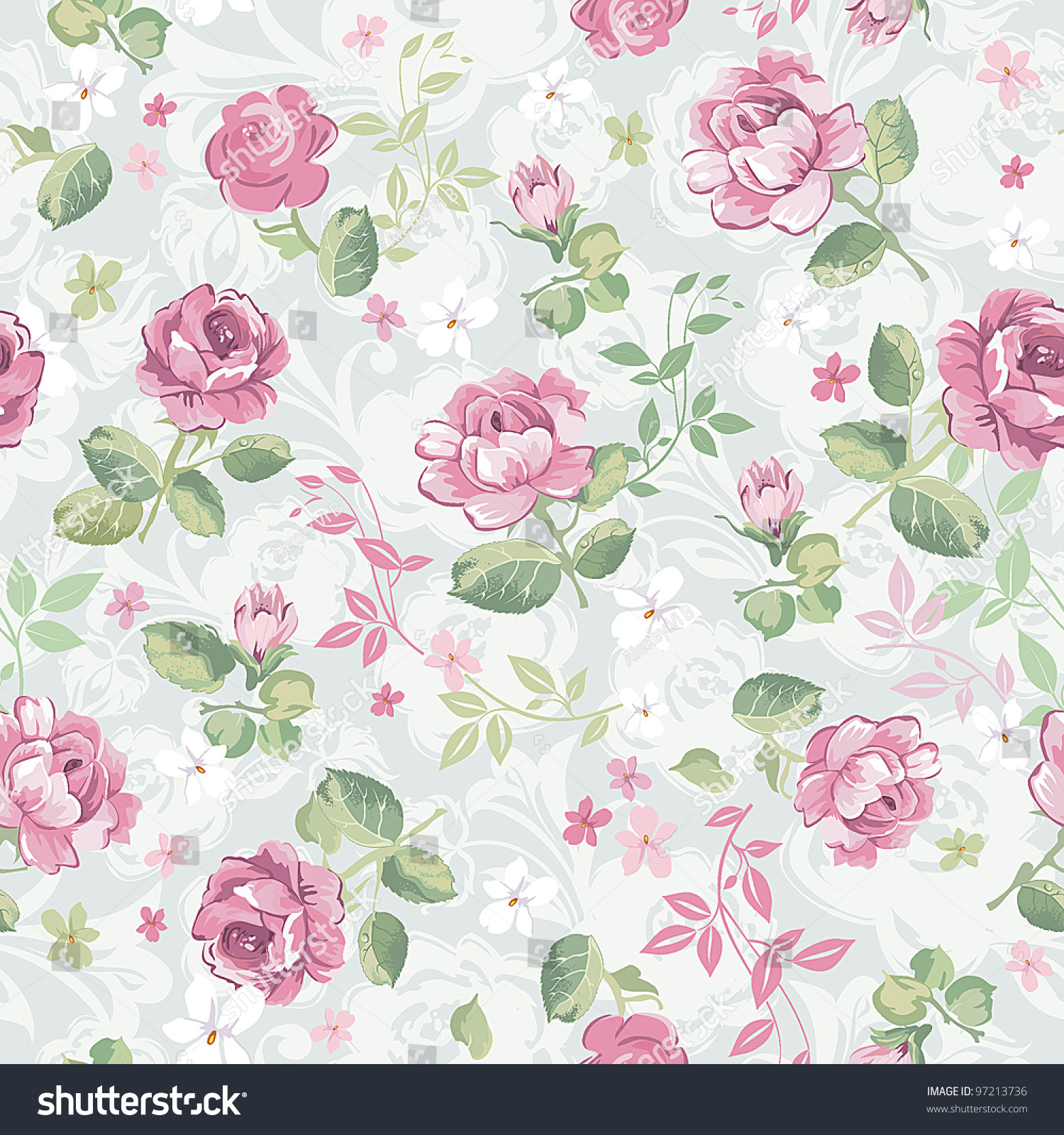 40 beautiful floral textures - photo #37