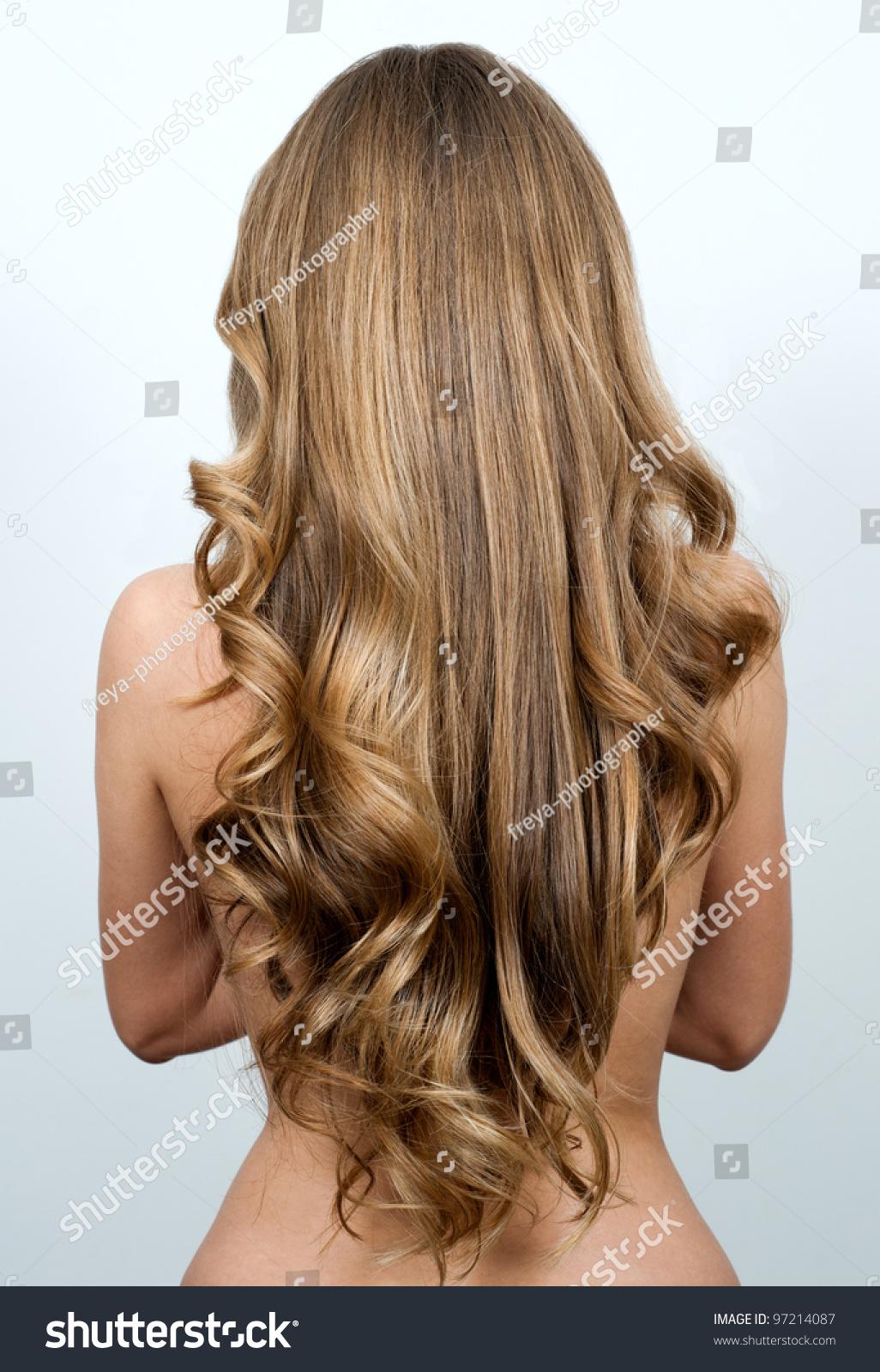 beautiful long hair woman stock photo 97214087 shutterstock