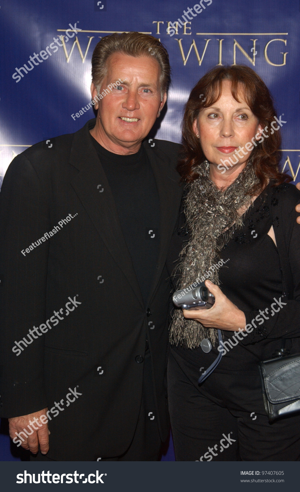 Martin Sheen and wife