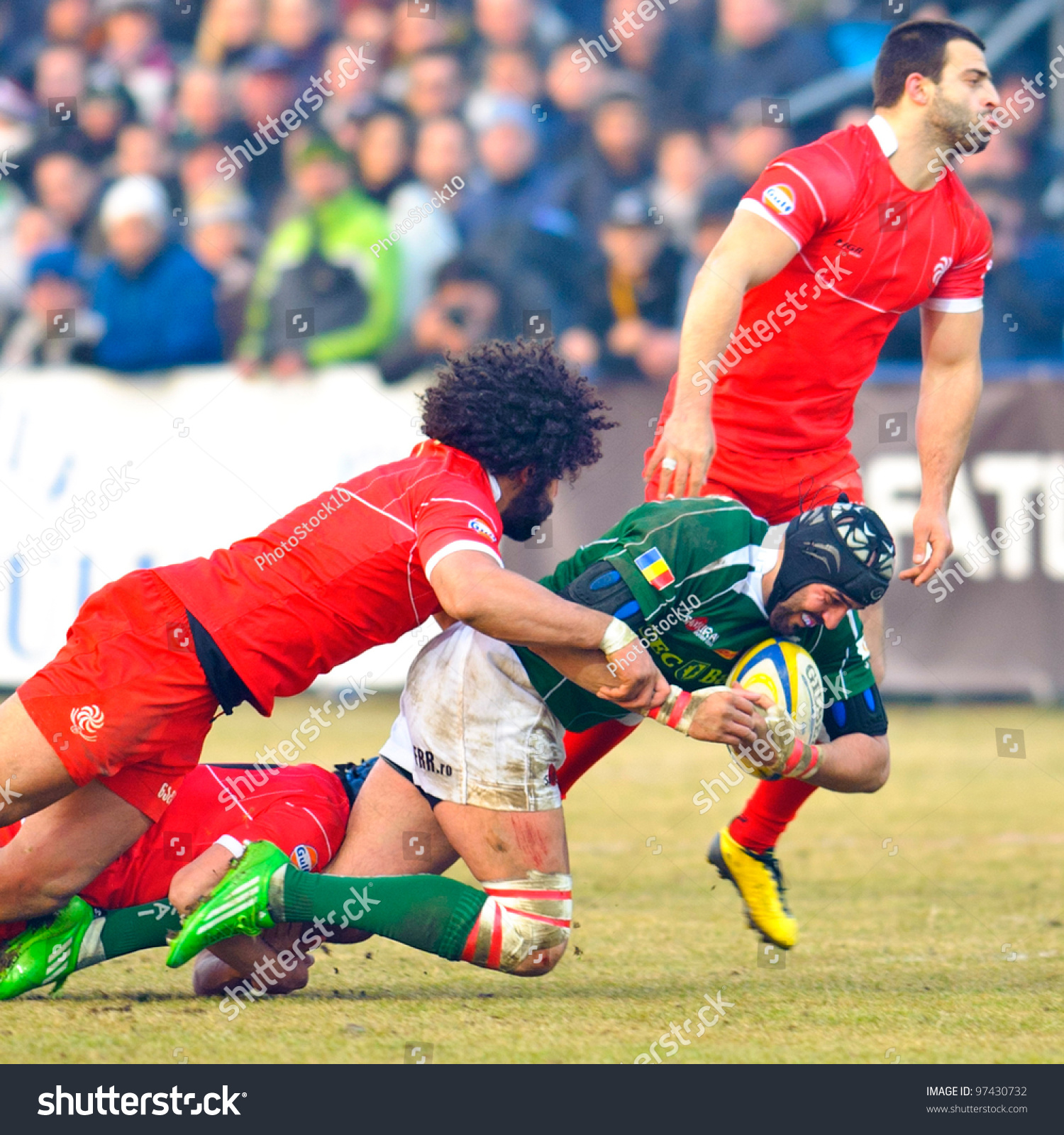 Green Rugby Player: March 10: Unidentified Rugby Players
