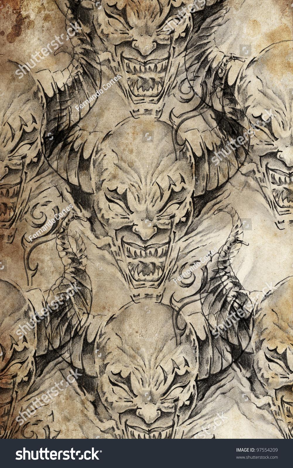 100 evil gargoyle tattoo designs photos gargoyles tattoo designs jpg evil looking. Black Bedroom Furniture Sets. Home Design Ideas