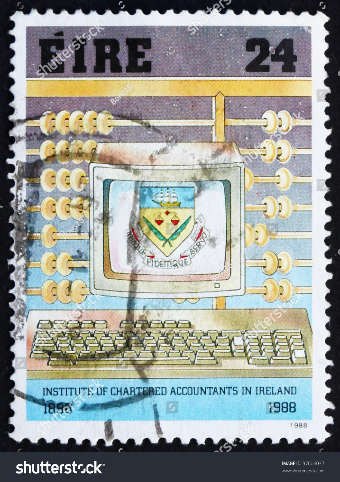 IRELAND CIRCA 1988 Stamp Printed Ireland Stock Photo Edit Now