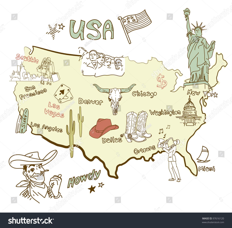 Sinkholes And Karst Terrain Regions In America Maps Map If America