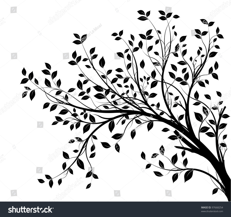 clipart tree branch borders - photo #14