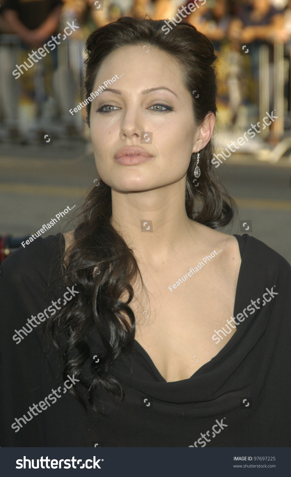 Actress Angelina Jolie World Premiere Her People Stock Image