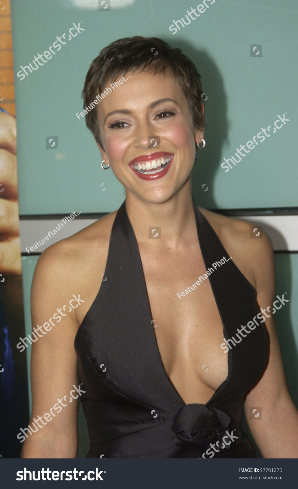 Alyssa Milano Movie Clips actress alyssa milano world premiere her stock photo (edit