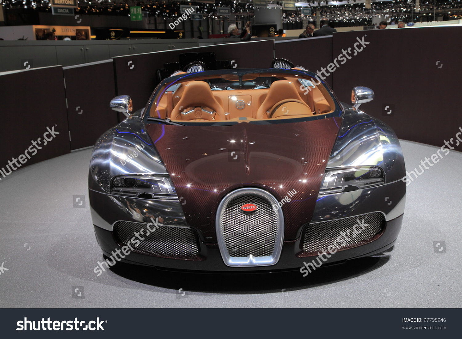 geneva march 8 a bugatti veyron grand sport car on display at 82th international motor show. Black Bedroom Furniture Sets. Home Design Ideas
