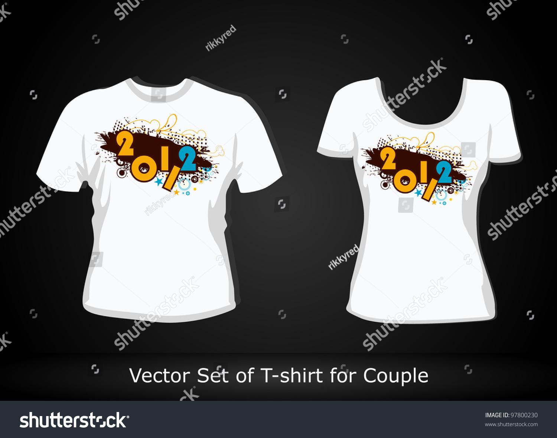 Shirt design illustrator template - T Shirt Design Template Editable Vector Illustration
