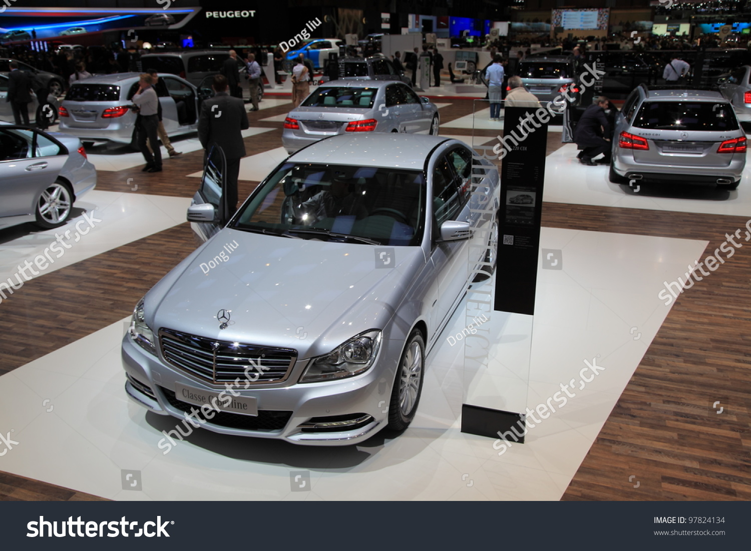 geneva march 8 a mercedes benz classe e berline car on display at 82th international motor. Black Bedroom Furniture Sets. Home Design Ideas