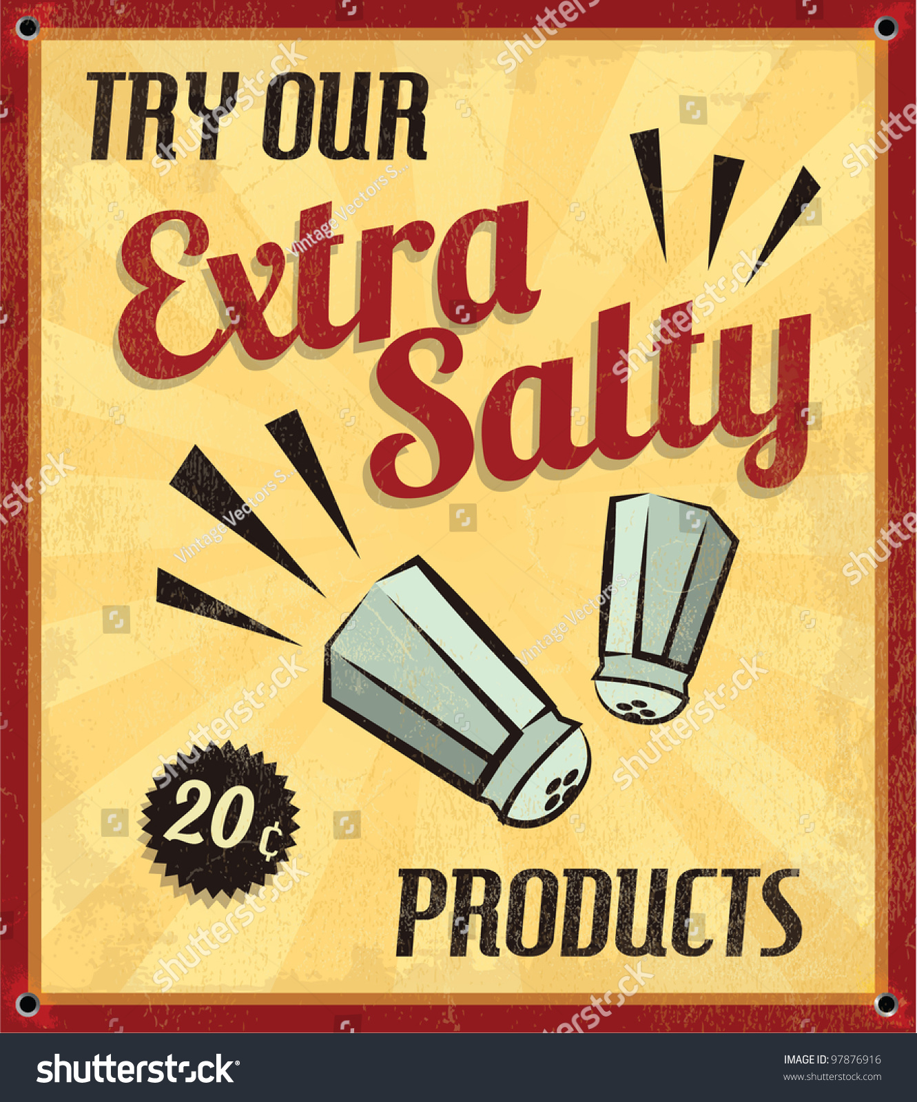 stock-vector-retro-vintage-extra-salty-t